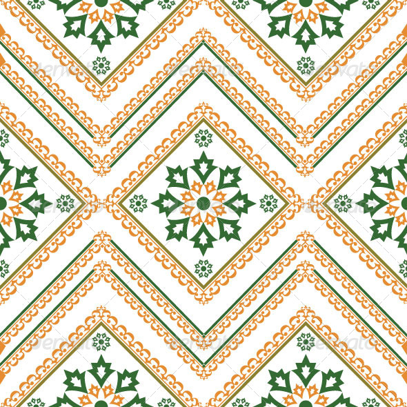 GraphicRiver Seamless Classic Pattern 4900409