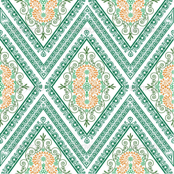 GraphicRiver Seamless Classic Pattern 4900441