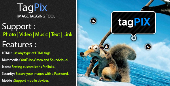 TagPix - Image tagging tool - CodeCanyon Item for Sale