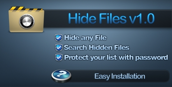 CodeCanyon Hide Files 4900561