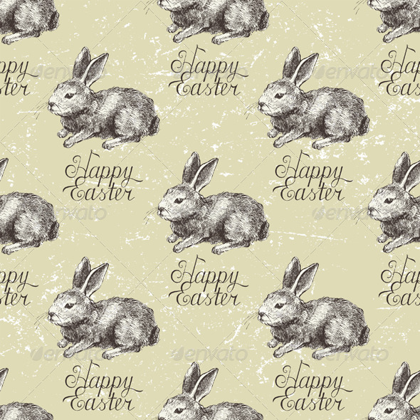 GraphicRiver Easter Seamless 4900701