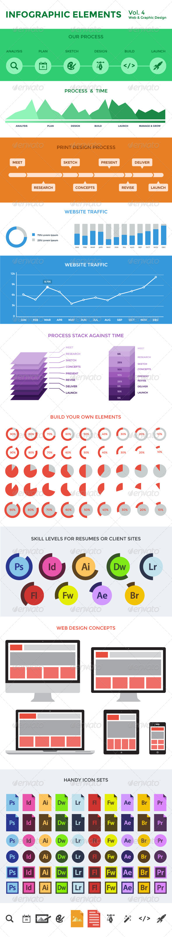GraphicRiver Infographic Elements Vol 4 4901774