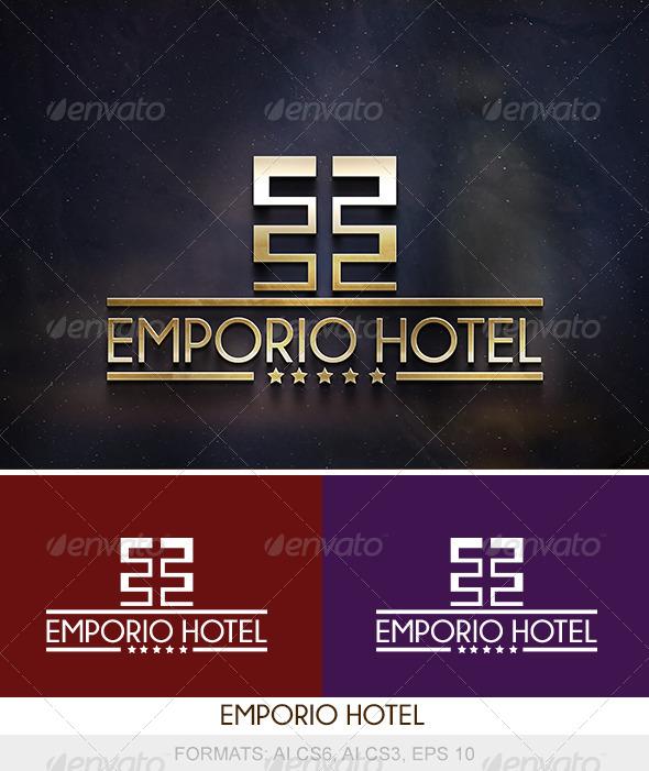 GraphicRiver Emporio Hotel Logo 4901856