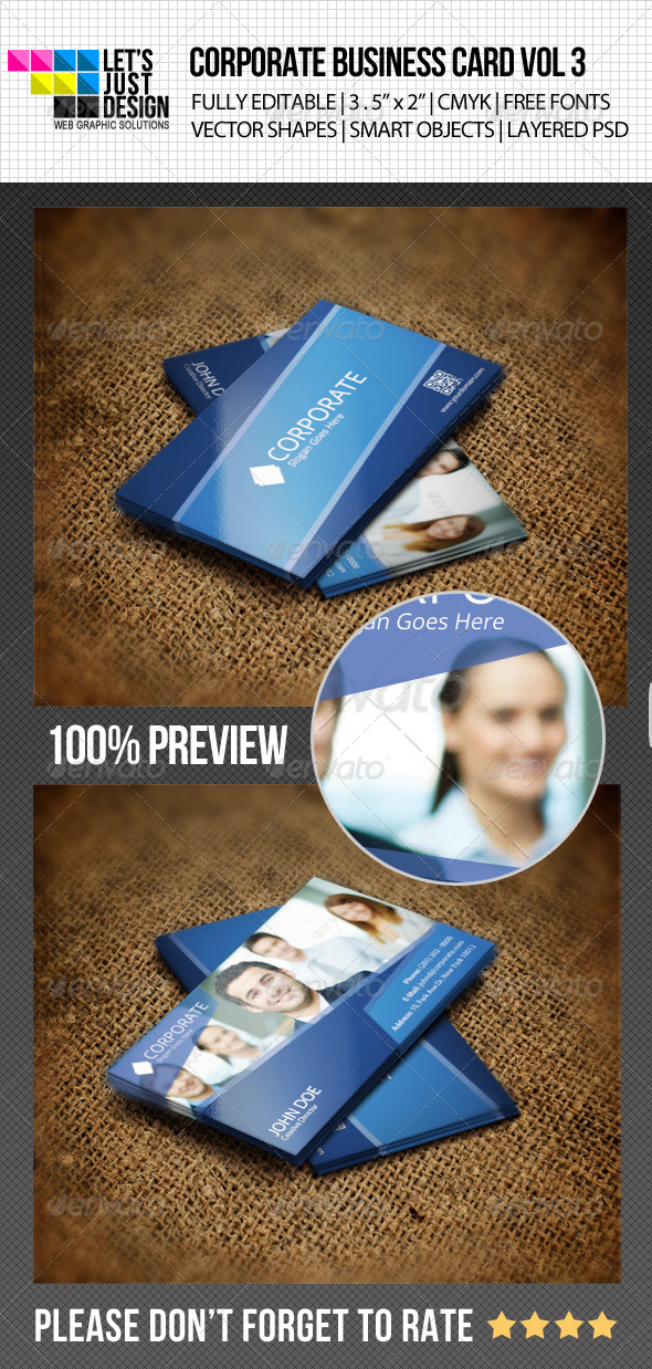 GraphicRiver Corporate Business Card Vol 3 4902252