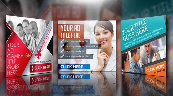 GraphicRiver Multipurpose Corporate Banner Bundle 4885126