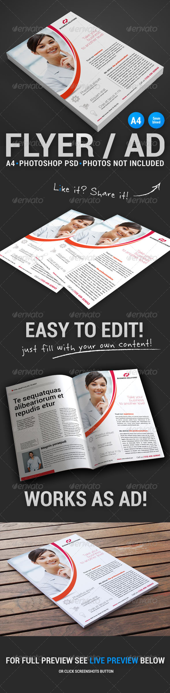 GraphicRiver Corporate Flyer 11 4903094
