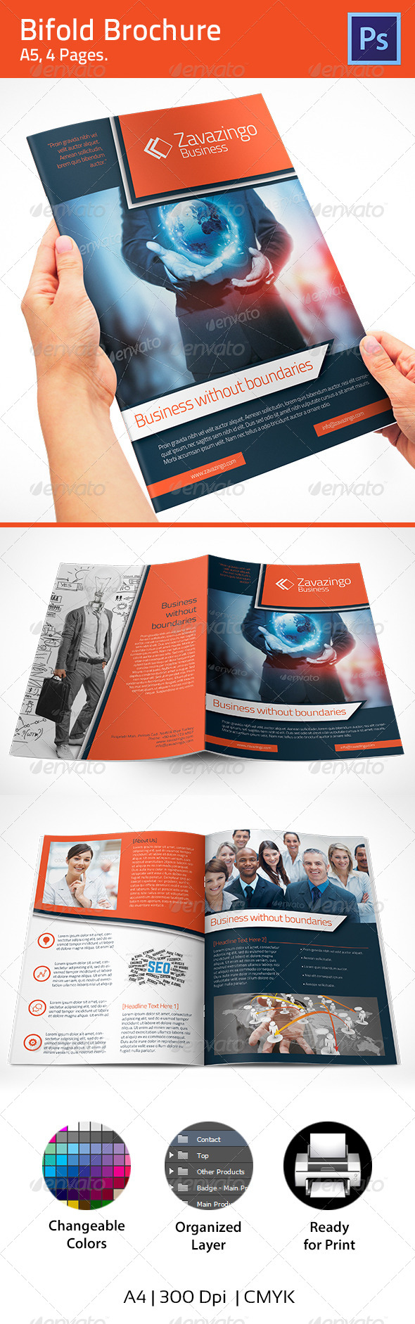 GraphicRiver Brochure 4903165
