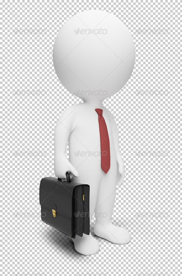 GraphicRiver 3D small people businessman 4903273