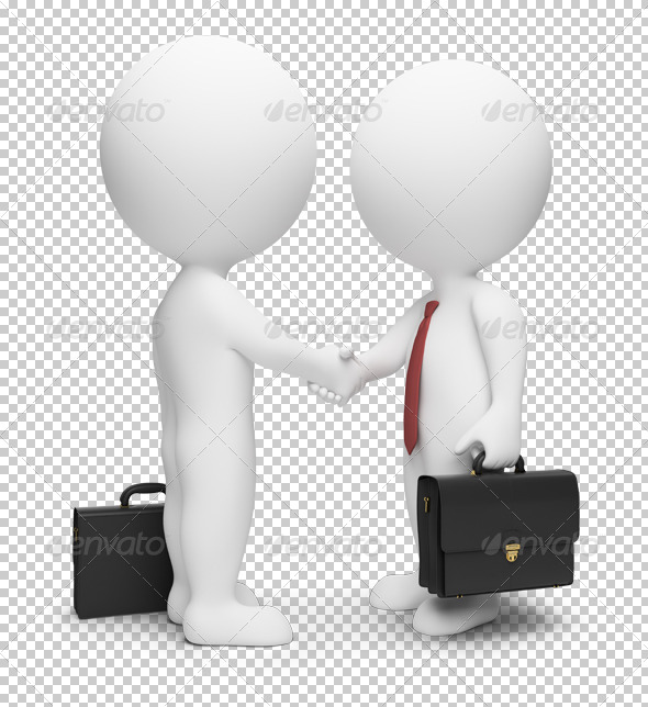 GraphicRiver 3D small people businessmen 4903281