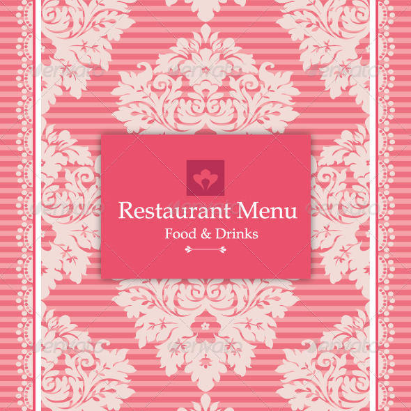 GraphicRiver Pink Menu Design 4903289