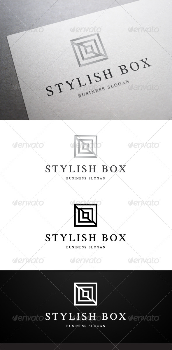GraphicRiver Stylish Box Logo 4903713