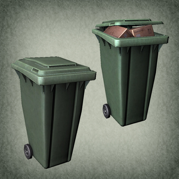 Trash Box  - 3DOcean Item for Sale