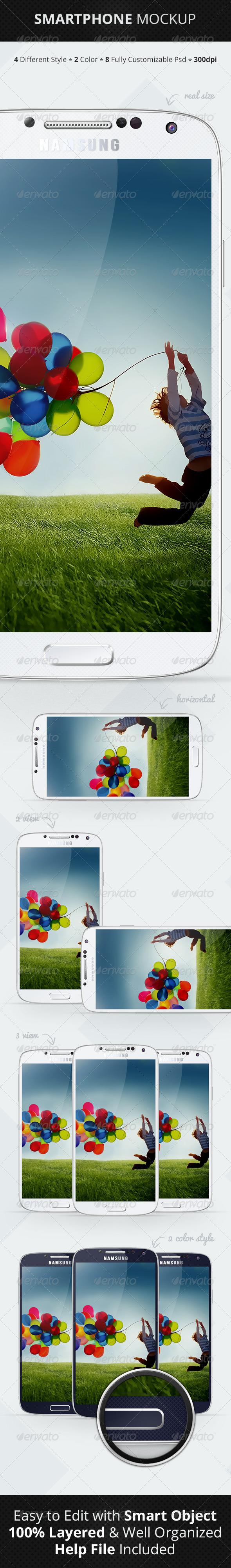GraphicRiver Smartphone Mockup 4894113