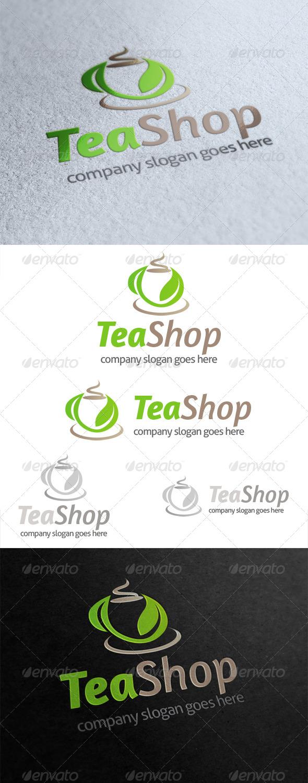 GraphicRiver Tea Shop Logo 4904183