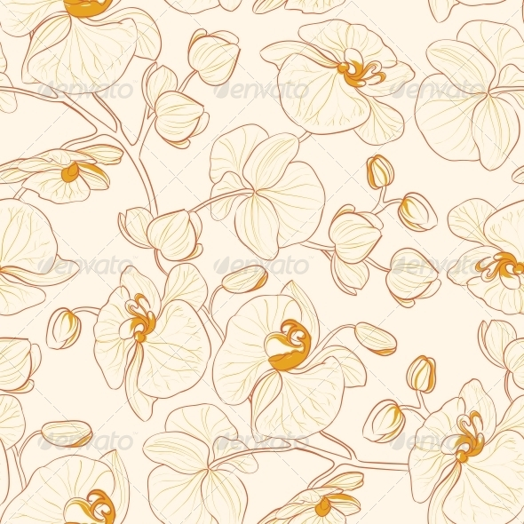 GraphicRiver Orchid Pattern 4904185