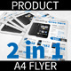 Product A4 Flyer - GraphicRiver Item for Sale