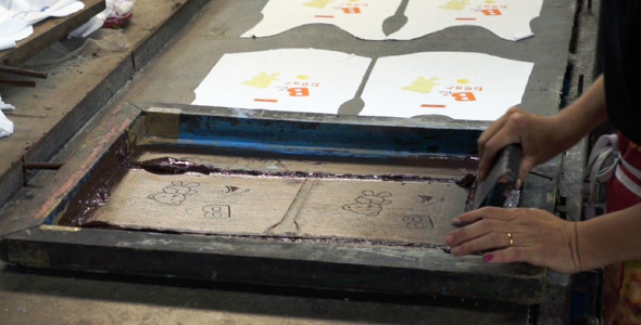 Manual Silk Screening