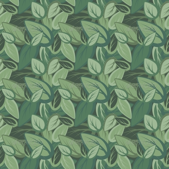GraphicRiver Seamless Leaf Pattern 4904253
