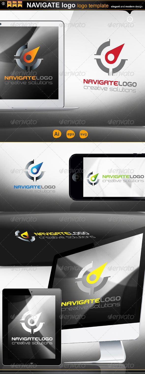 GraphicRiver Navigate Logo 4904591