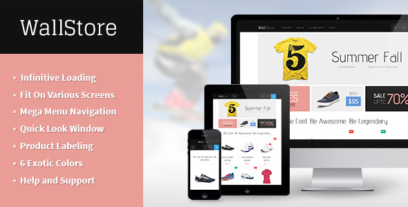 JM Wall - The Ultimate Responsive Magento Theme