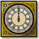 Quadrant of Magical Victorian Clock with Lancets - ActiveDen Item for Sale