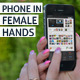 Phone in Female Hands