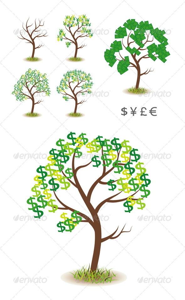 GraphicRiver Money Tree 4906541