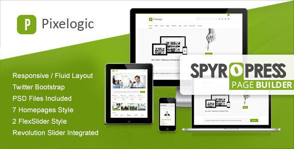 Pixelogic Responsive Multi-purpose WordPress Theme - Creative WordPress