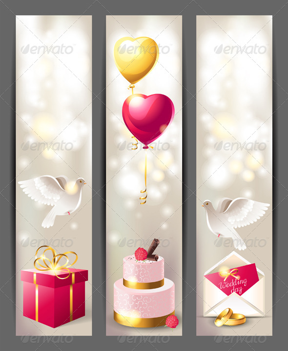 GraphicRiver Wedding Banners 4909100
