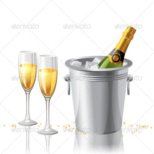 GraphicRiver Champagne 4909168