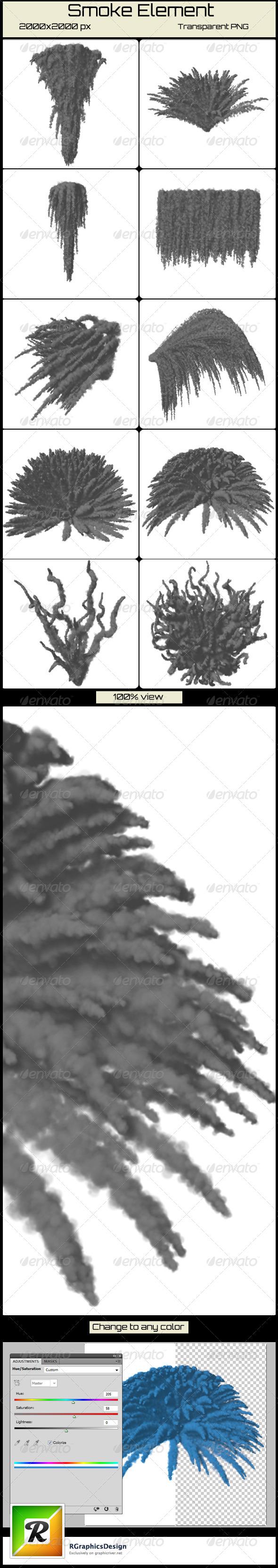 GraphicRiver Smoke Element 4903292