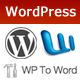 WPToWord | WordPress to Word Doc Plugin