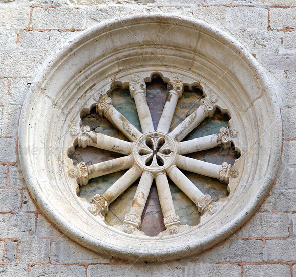 Round window - Stock Photo - Images