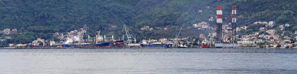 Shipyard - Stock Photo - Images