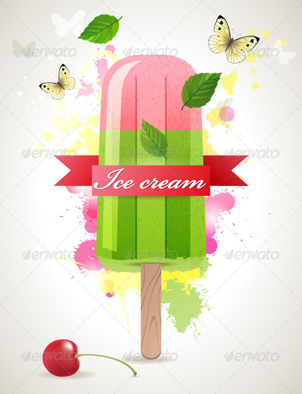 GraphicRiver Ice Lolly 4909745