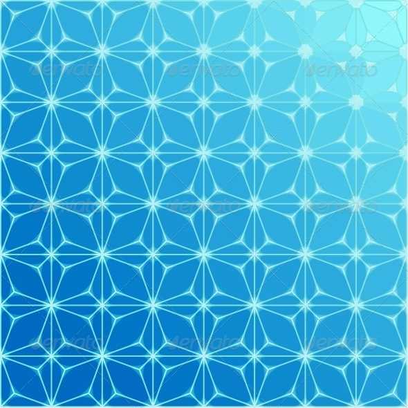 GraphicRiver Abstract Blue Geometrical Background 4910028