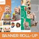 Premium Junior Education Banner Roll-up - GraphicRiver Item for Sale