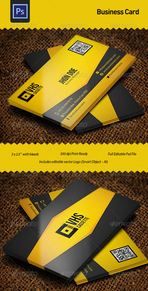 GraphicRiver Business Card Template 4910105