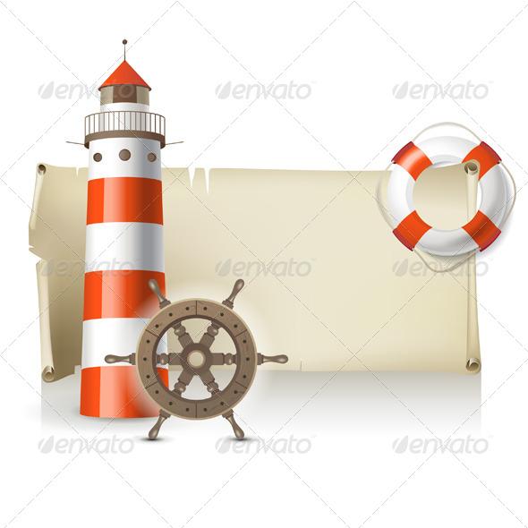 GraphicRiver Sea Banner 4910106