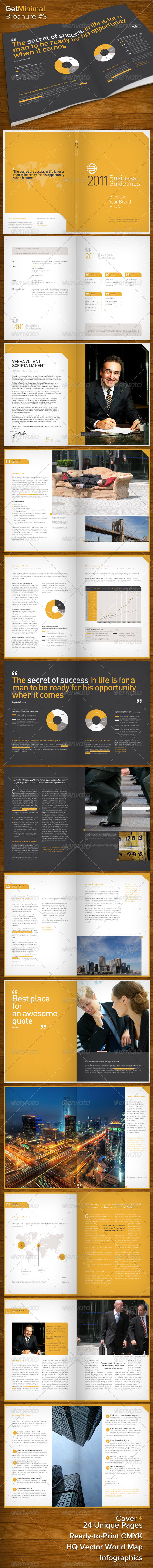 GraphicRiver Get Minimal Brochure 03 508452