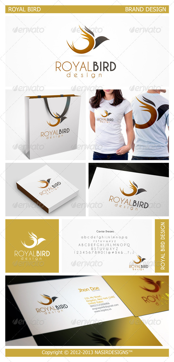 GraphicRiver Bird Logo 4910872