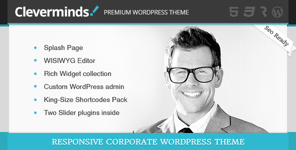 ThemeForest Cleverminds Premium Business WordPress Theme 4910876