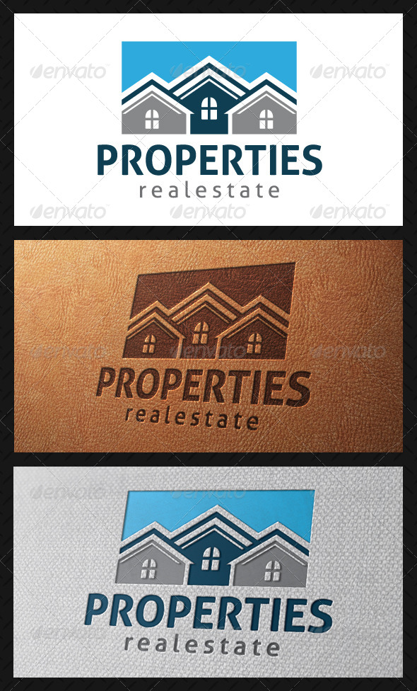GraphicRiver Properties Logo Template 4911094
