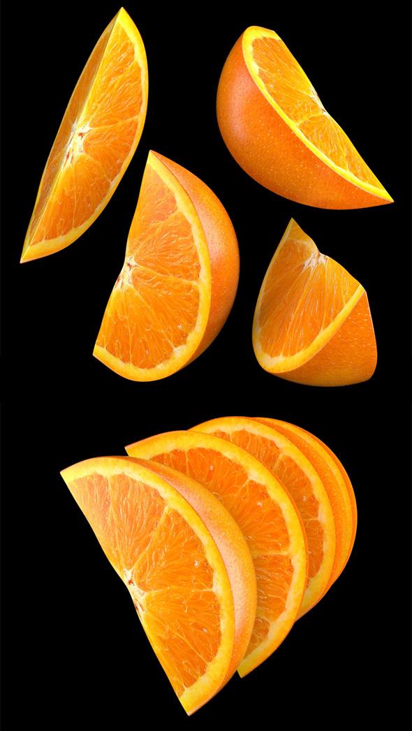3DOcean Orange Slice 4913094