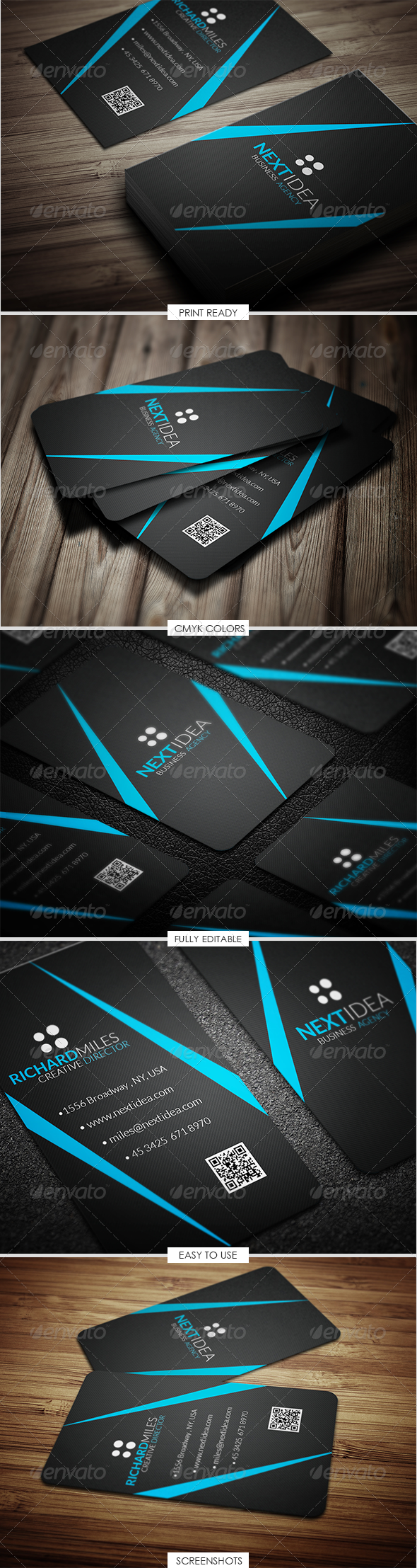 GraphicRiver Corporate Business Card 4913290