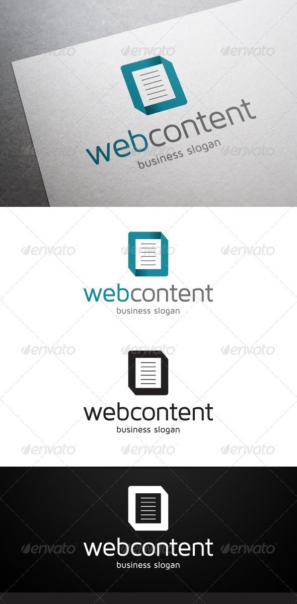 GraphicRiver Web Content Logo 4913337