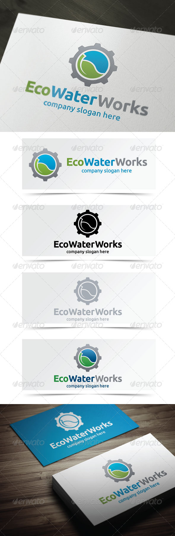GraphicRiver Eco Water Works 4913359