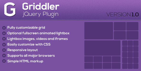 CodeCanyon Griddler jQuery Plugin 4884361