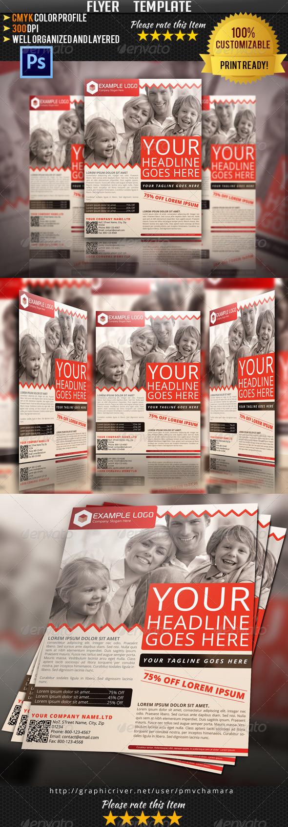 GraphicRiver Multipurpose Flyer Template Vol.1 4843770