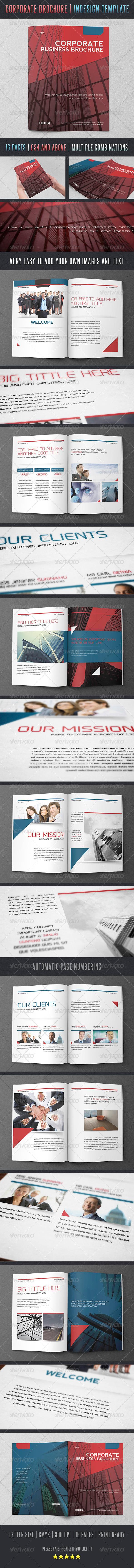 GraphicRiver Corporate Brochure 4913696